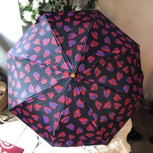 NWOT Totes Red Hat Society Umbrella